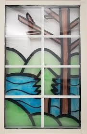 colorful stained glass decorative piece whether you want to envision a warmer landscape or showcase your favorite images this easy and kid friendly