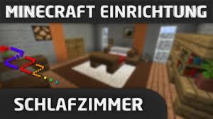 Minecraft Einrichtung Schlafzimmer Youtube