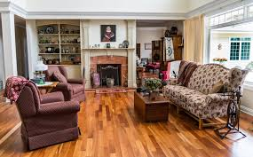 classic decor with wooden floor