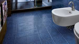 Blue Marble Effect Floor Tiles • Tile Flooring Ideas