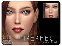 imperfect freckle blush mask