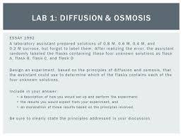 ap biology test part ap lab review ppt video online  lab 1 diffusion osmosis