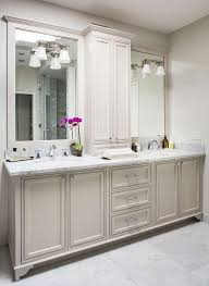 master bathroom cabinets ideas.  Master Gorgeous Master Bathroom Features A Light Grey Double Vanity Adorned With Cabinet  Ideas 0 Intended Cabinets U