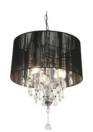 shaded crystal chandelier by made with love designs ltd throughout shade ideas 7