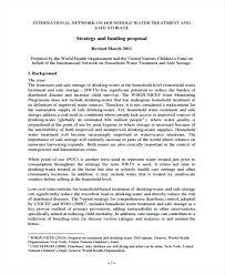 Ngo Funding Proposal Template