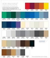 Rowmark Ada Alternative Color Chart Rowmark Ada Alternative Swatch Book Page