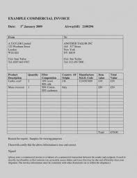 Free Download Sample International Commercial Invoice Template Word ...