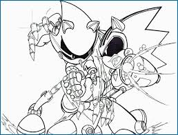 Sonic Exe Coloring Pages Fabulous Super Sonic Coloring Page Coloring