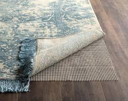 recommended when placing area rugs on all hard surface flooring