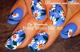DIY Daisy Nails   Easy Daisies Nail Art Design Tutorial - YouTube