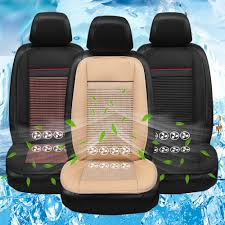 seat cover refrigeration blowing cooling smart car seat cushion black