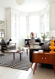 graphic striped rug living room black and white 9x12 rugs