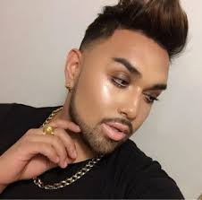 makeup male you mugeek vidalondon insram instahair instalike nicolas degen this glowy diva is macdaddy he is an