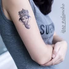 водонепроницаемый временная татуировка стикеры 1056 см татуировка со слоном