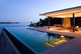 Contemporary Infinity Pool Design Ideas By My Renovator T Intended Perfect