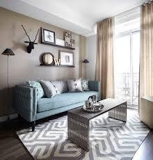 queenscorp condo contemporary living room
