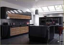 High Gloss Black Kitchen Doors