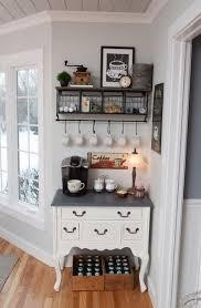 Decorating: Pretty Coffee Station Decor - DIY Coffee Station