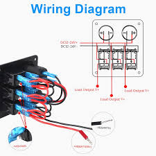 wiring diagram marine switch panel diy enthusiasts wiring diagrams \u2022 6 gang marine switch panel wiring diagram marine switch panel wiring diagram luxury wiring diagrams for boat rh dcwestyouth com jon boat switch