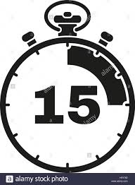 The 15 Seconds Minutes Stopwatch Icon Clock And Watch