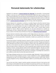 scholarship personal statement examples source scholarship personal statement sample related