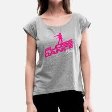 dance team floss dance club flossing team dancing women s rolled sleeve