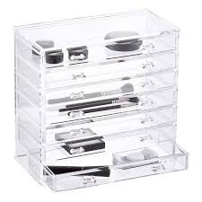 7-Drawer Premium Acrylic Chest Clear ...