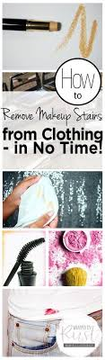 how to remove makeup sns from clothing in no time