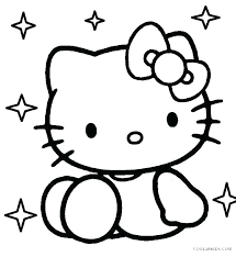 Hello Kitty Easter Printable Coloring Pages Carriembecker Me