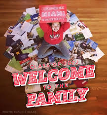 miami university miami university sign class of 2022 welcome to the family photo of accepted student claudia salas