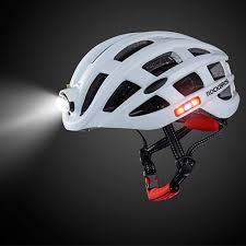Rockbros Helmet With Lights Amazon Com Anyilon Outdoor Sports Helmet With Light