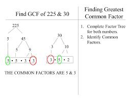 Gcf Factor Tree Gcf Math Sun Flowerbird18 On Prezi - Pauls Ideas