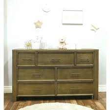 floating dresser 7 drawer double shelves above