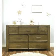 floating dresser 7 drawer double shelves above