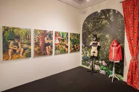 Art exhibits december teen art