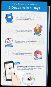 Check Register App Check In To Your Office With The Zoho People Mobile App