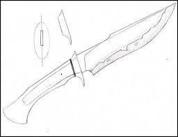 Colección de edulver baquero ferro. Resultado De Imagem Para Knife Template Plantillas Cuchillos Plantillas Para Cuchillos Cuchillos Y Espadas