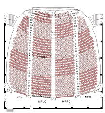 Orpheum Theater Seating Chart Seating Orpheum Live
