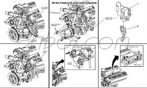 4th gen lt1 f body tech aids drawings exploded views air pump recall components