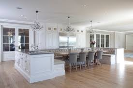 u shaped kitchen island with seating