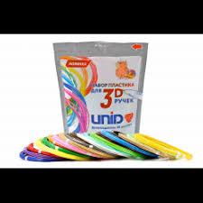 Отзывы о <b>Набор</b> пластика для <b>3D ручек UNID</b>