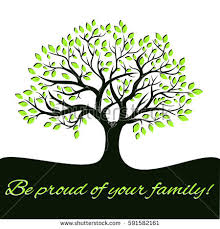 photo family tree template genealogical tree concept family tree template stock photo photo