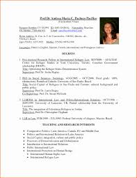 International Relations Resume Sample Best Of International