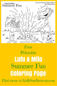 14 Best Free Printable Lulu Milo Coloring Pages Images On