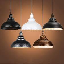 details about vintage ceiling light retro pendant lamp industrial loft iron chandelier