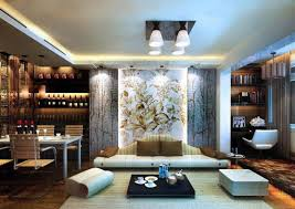 Japanese Modern Living And Dining Room Interior Design