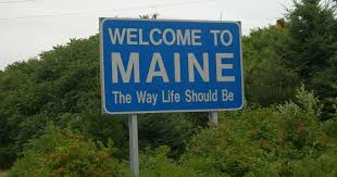 Image result for Today, Maine is the least densely populated state east of the Mississippi River.