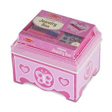 Melissa And Doug Decorate Your Own Jewelry Box Decorate Your Own Jewelry Box Kids Arts and Crafts Radar Toys 1