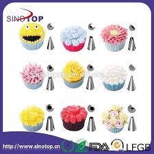 Cake Decorating Nozzles Designs Amazon Hot Sell 100pcs Stainless Steel Cake Decorating Nozzles 2