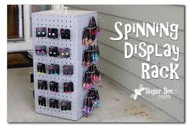 Pegboard Display Stands Uk Spinning Display Rack Display Tutorials And Bee Crafts 70